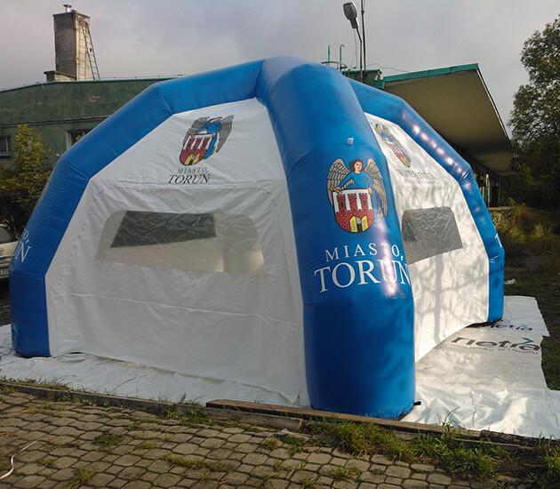 Namioty pneumatyczne na zamówienie