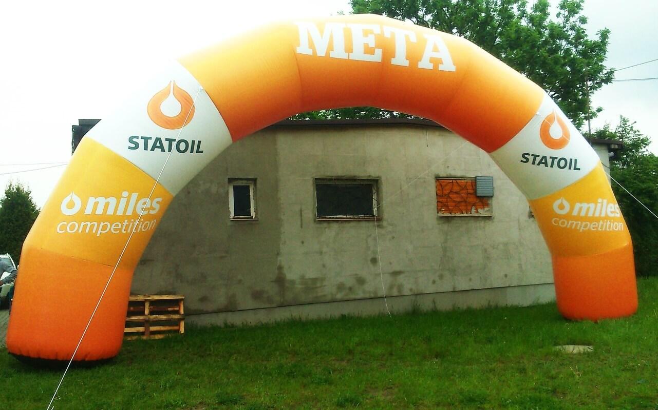 Brama reklamowa dla Statoil