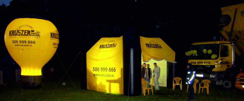 Nadmuchiwane namioty reklamowe z nadrukiem - namiot pneumatyczny