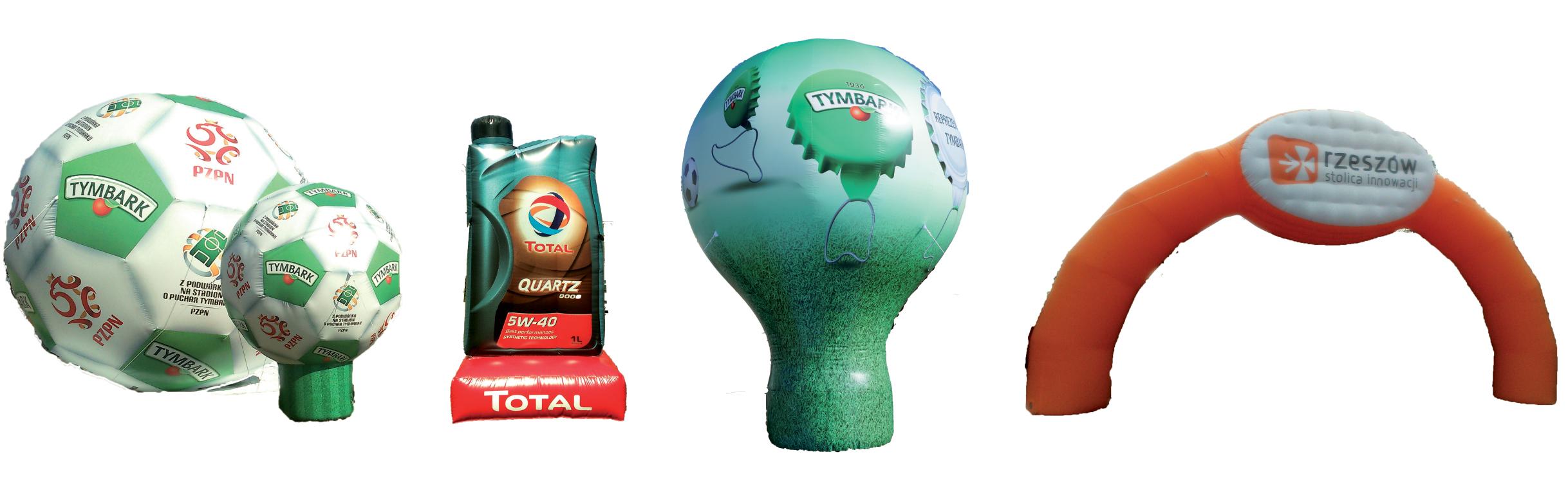 Reklama pneumatyczna - balony pneumatyczne, wynajem balonu
